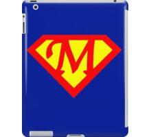 Super M Logo iPad Case/Skin