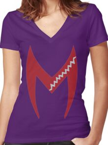 The Twins Women's Fitted V-Neck T-Shirt
