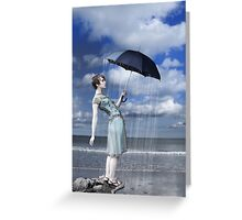 Why does it always rain on me (again) Greeting Card