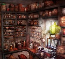 Pharmacy - Equipment - Merlin's Study by Mike  Savad