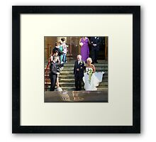 The March Wedding Framed Print