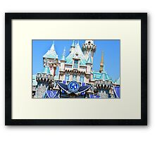 60th Anniversary Castle Framed Print