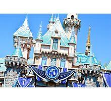 60th Anniversary Castle Photographic Print