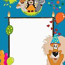BIRTHDAY PARTY INVITE by Cool Designs