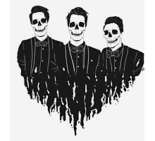 skeleton boys Photographic Print