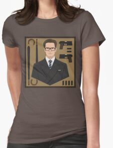 Manners Maketh Man Womens Fitted T-Shirt