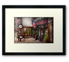 Store - Flemington, NJ - Historic Flemington  Framed Print
