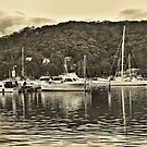 Peaceful Anchorage by George Petrovsky