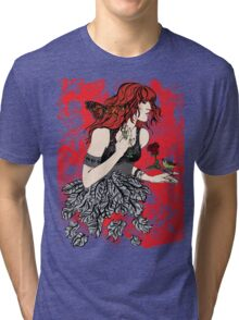 'Once upon a time there was Florence' (2) Tri-blend T-Shirt