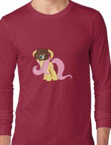 Fluttershy Dovahkiin (No Text) Long Sleeve T-Shirt
