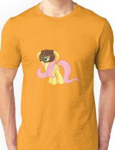Fluttershy Dovahkiin (No Text) Unisex T-Shirt