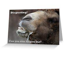 I'm Sorry Forgive Me Card 1 Greeting Card