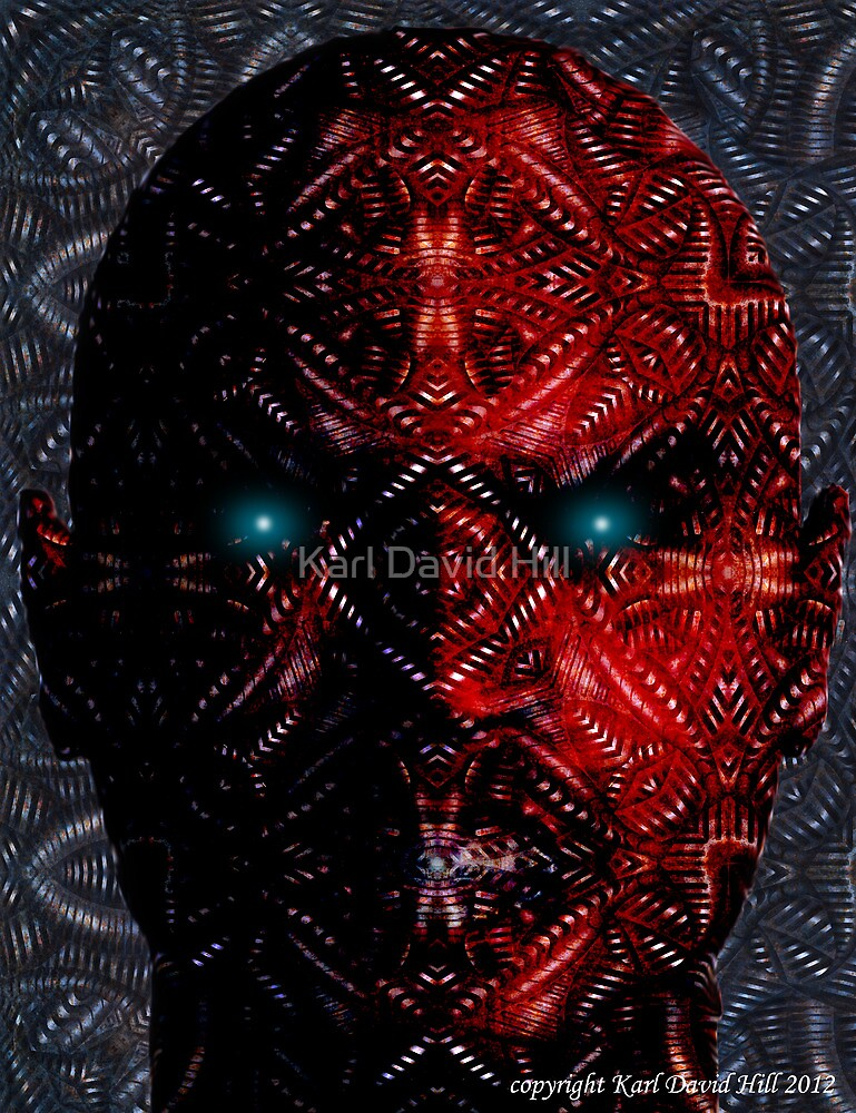 Dehumanisation 002 by Karl David Hill