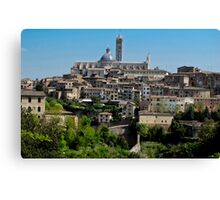 walled Siena Canvas Print