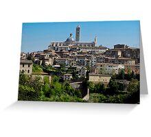 walled Siena Greeting Card