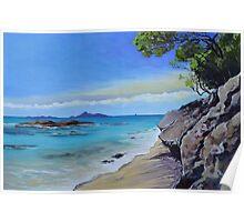 Waipu Cove  Poster