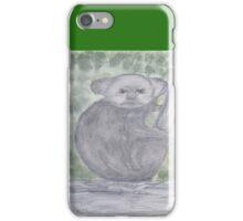 Angry Koala. iPhone Case/Skin