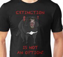 Extinction is not an option Unisex T-Shirt