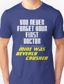 First Doctor - Crusher Unisex T-Shirt