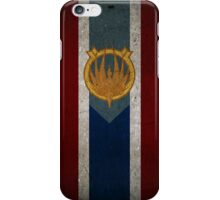 Battlestar Galactica Caprica Flag iPhone Case/Skin