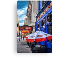 Way Off Broadway Canvas Print