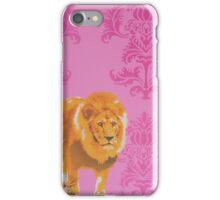 Wallpaper Lion Pink iPhone Case/Skin