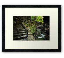 Heaven's Path Framed Print
