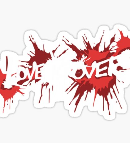 Catherine - Love is Over Sticker