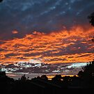 Fire in the morning sky by chrisuk