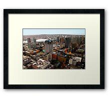 Vancouver City, Canada Framed Print