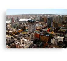 Vancouver City, Canada Canvas Print