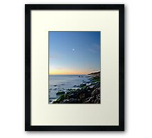 Venus and the Moon Framed Print