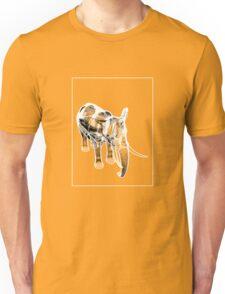 Elephant Grey White C Unisex T-Shirt