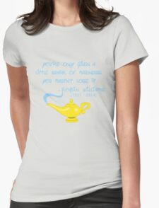 Robin Williams quote Womens Fitted T-Shirt