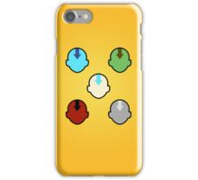 The Elements and their Bender iPhone Case/Skin