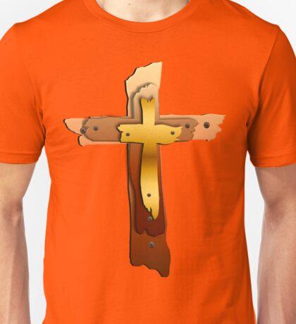 Three Crosses Unisex T-Shirt