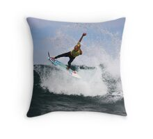 Kelly Slater- Winkipop Throw Pillow