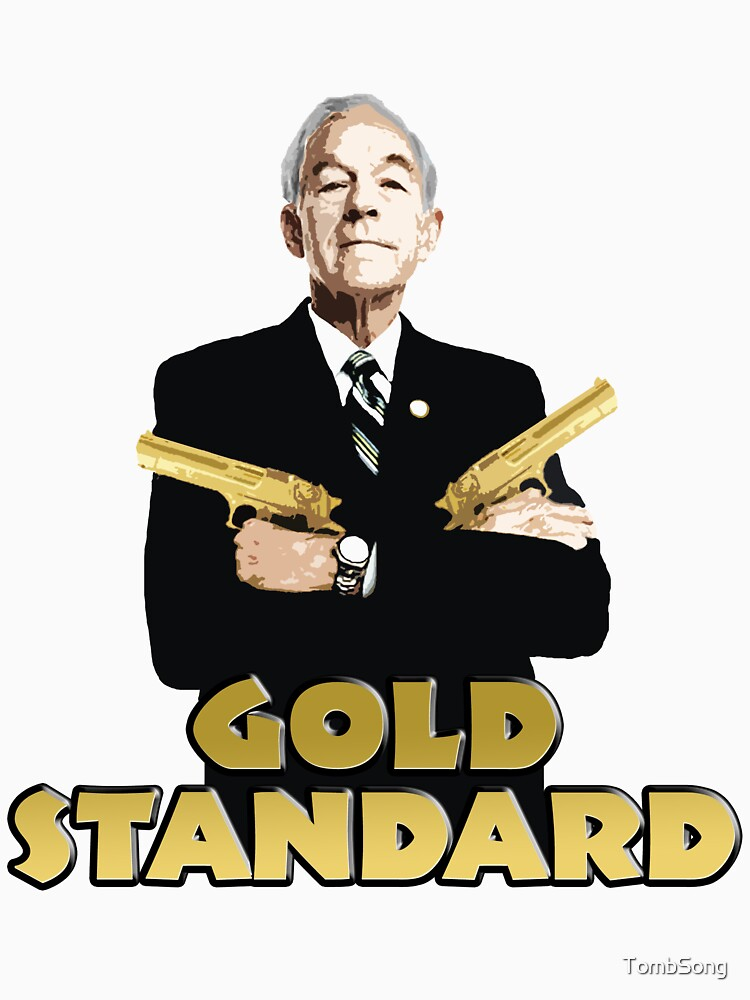 Image result for ron paul gold standard