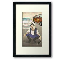 Han Cholo Framed Print