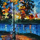 CHARM OF LONELINESS  - LEONID AFREMOV by Leonid  Afremov