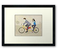 Hop On Spider Monkey Framed Print