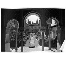 Arches in Granada Poster