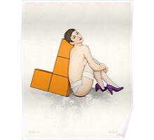 Tetris no. 1 Poster