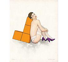 Tetris no. 1 Photographic Print