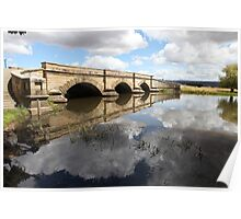 Serene Afternoon at the Ross Bridge Poster