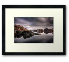 Moody Watson Framed Print