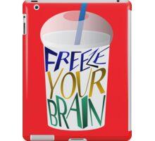Freeze Your Brain iPad Case/Skin