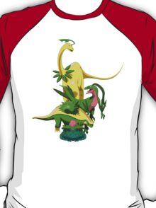 Pokesaurs - Grassiosaurs T-Shirt