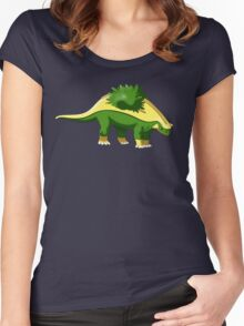 Pokesaurs - Grotle Women's Fitted Scoop T-Shirt