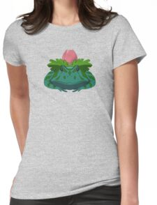 Pokesaurs - Ivysaur Womens Fitted T-Shirt